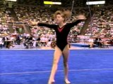 Chelle Stack  Floor Exercise - 1989 U.S. Gymnastics Championships - Event Finals