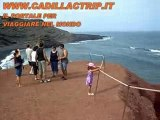Lanzarote spiaggia di el golfo, Canarie