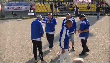 National Triplettes Vétérans de la ville de Nyons 2017 : Huitième LAGARDE vs LIENARD