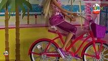 Barbie Bisiklet Biniyor - Bisikletli Barbie Barbie Chelsealar ve Barbie Ken Ryan