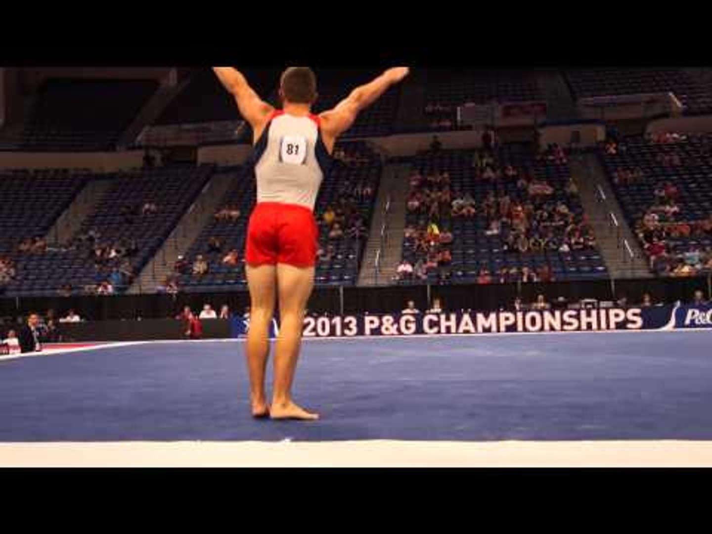 Hunter Justus - Floor Exercise - 2013 P&G Championships - Jr. Men - Day 1