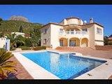 Vente villa Calpe Annonces immobilières Calpe 4 chambres piscine vue sur mer quartier résidentiel : Particulier ? Visite