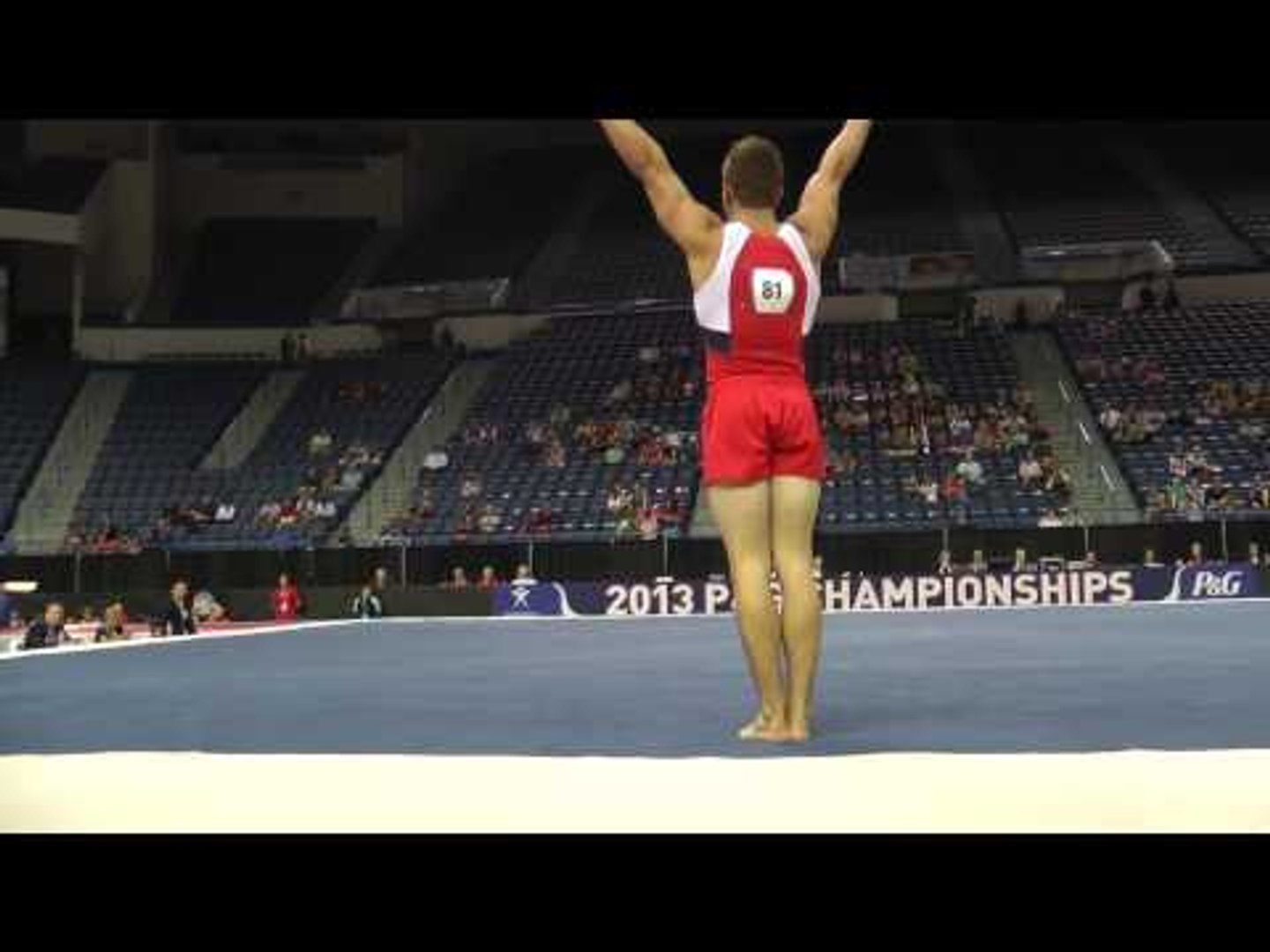 Hunter Justus - Floor Exercise - 2013 P&G Championships - Jr. Men - Day 2