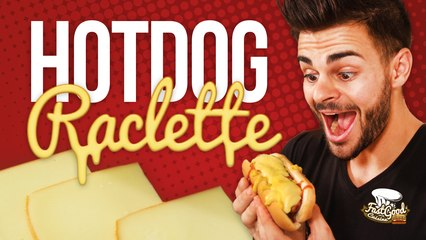 CE COMBO EST ULTIME - HOT DOG RACLETTE !