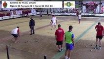 Huitièmes de finale du simple, Mondial Seniors, Casablanca 2017