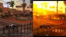GTA: San Andreas PS3 vs PS4 Graphics comparison