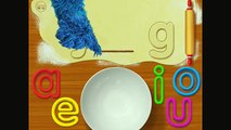 ALPHABET KITCHEN! COOKIE CALLS! Learn and Play with Cookie Monster! Sesame Street Games/Apps