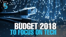 EVENING 5: Budget 2018 to be more tech-centric