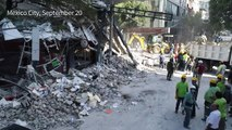 Trapped under rubble for 30 hours: Mexico quake survivor's story