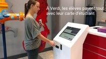 A l'Athénée Royal Verdi, à Verviers, les cartes d'étudiants servent de monnaie virtuelle