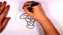How to Draw a Panda Bear Face Cartoon Step by Step - Cute Panda Bear Drawing | CC