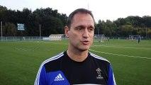 Football - Interview de Xavier Donnay, responsable de la formation provinciale des jeunes filles à l'ACFF