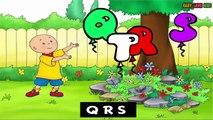 Caillou ABC Songs - Pre kindergarten school Songs   Nursery Rhymes Preschool Songs  