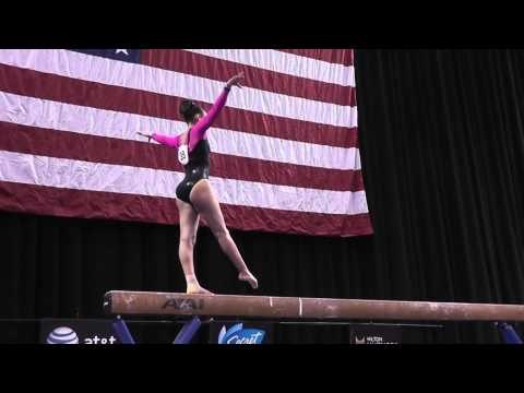 Brianna Brown - Balance Beam - 2014 Nastia Liukin Cup
