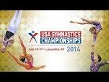 2014 USA Gymnastics Championship - Rhythmic Gymnastics - Jr. Elite Prelims Day 1