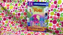 Trolls Poppys Party book review Step 3 read aloud Poppy and Branch