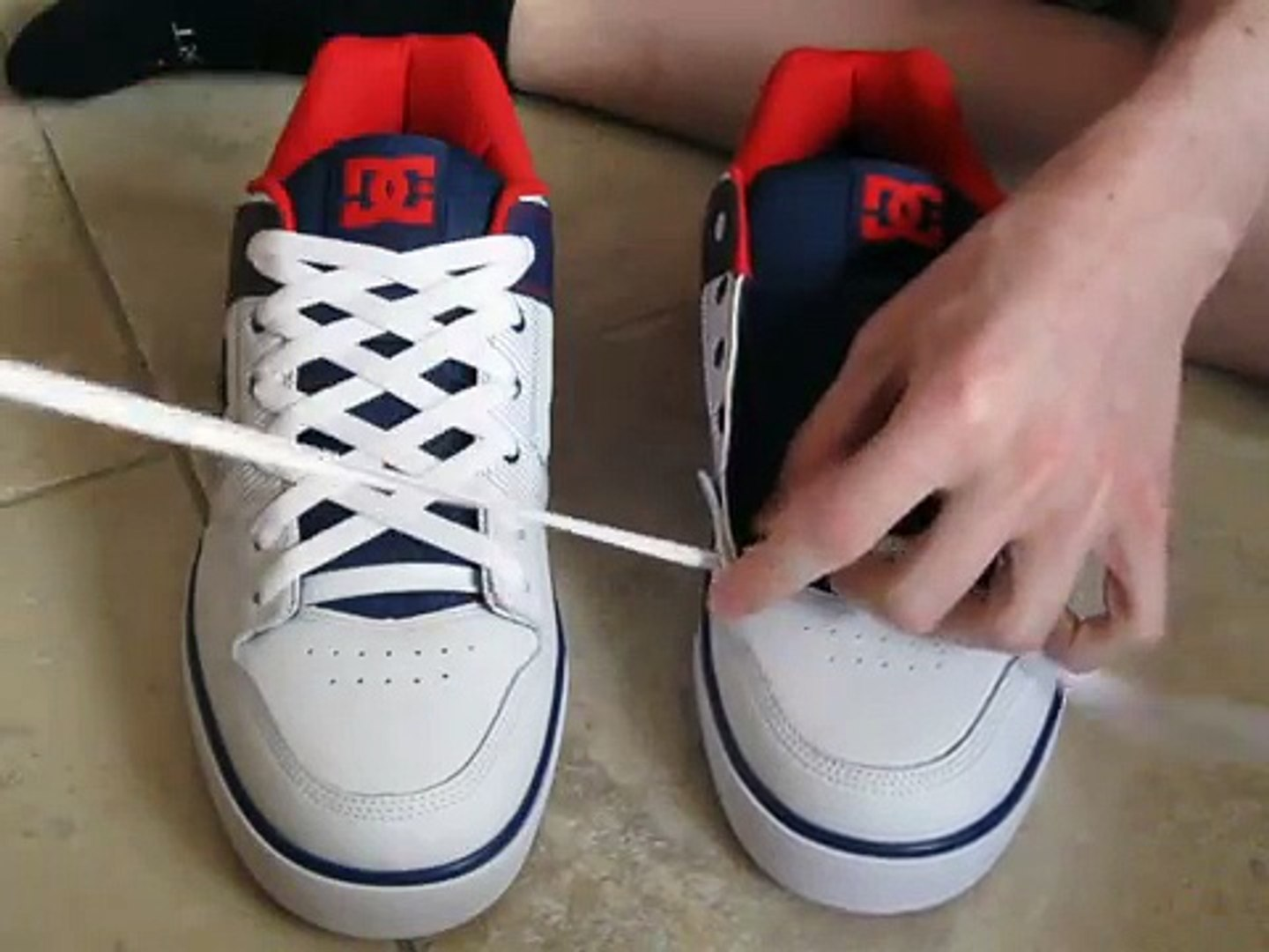How To DIAMOND Lace Shoes and with No Bow