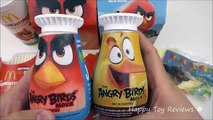 2016 McDONALDS EVERYTHING ANGRY BIRDS MOVIE HAPPY MEAL ACTION BIRD CODES FOOD TOYS BOX COLLECTION
