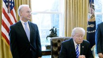 Trump 'Unhappy' With Tom Price Over Private Jet Use