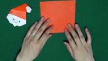 Japanese Origami「Santa Claus」簡単!サンタクロースの折り方