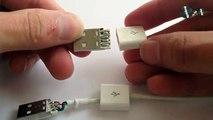 Como Hacer una Mini Lámpara USB Casera (ILAMP APPLE)