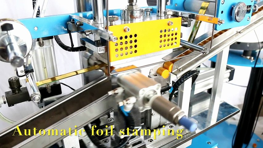 automatic wine bottle seal foil stamping machine