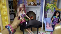 CHELSEA is ing silly! DOLLHOUSE playing! BARBIE, Stacie & Skipper educate Chelsea