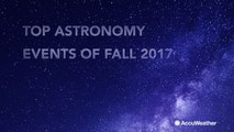 Don't miss these upcoming celestial events this fall