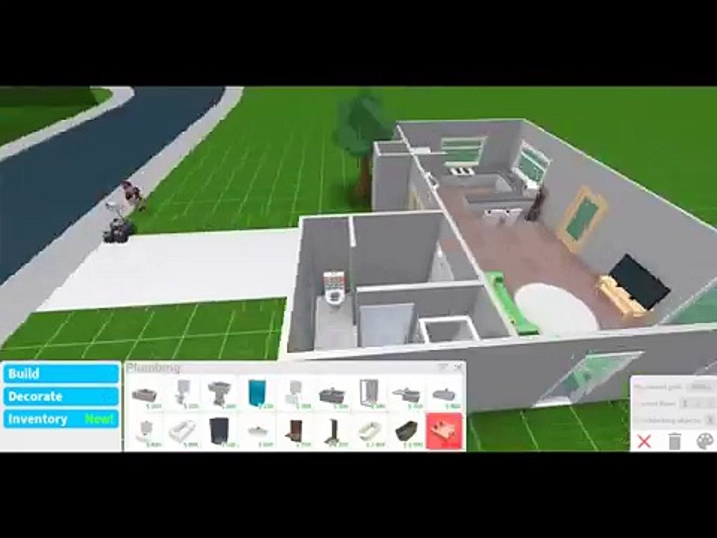Building A 10k House 3 Roblox Bloxburg Video Dailymotion