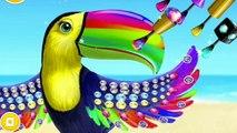 Fun Animals Care - Makeover Bath Dress Up Kids Games for Girls - Jungle Animal Hair Salon 2 Gameplay