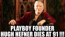 Playboy founder Hugh Hefner expires of natural causes at his mansion | Oneindia News