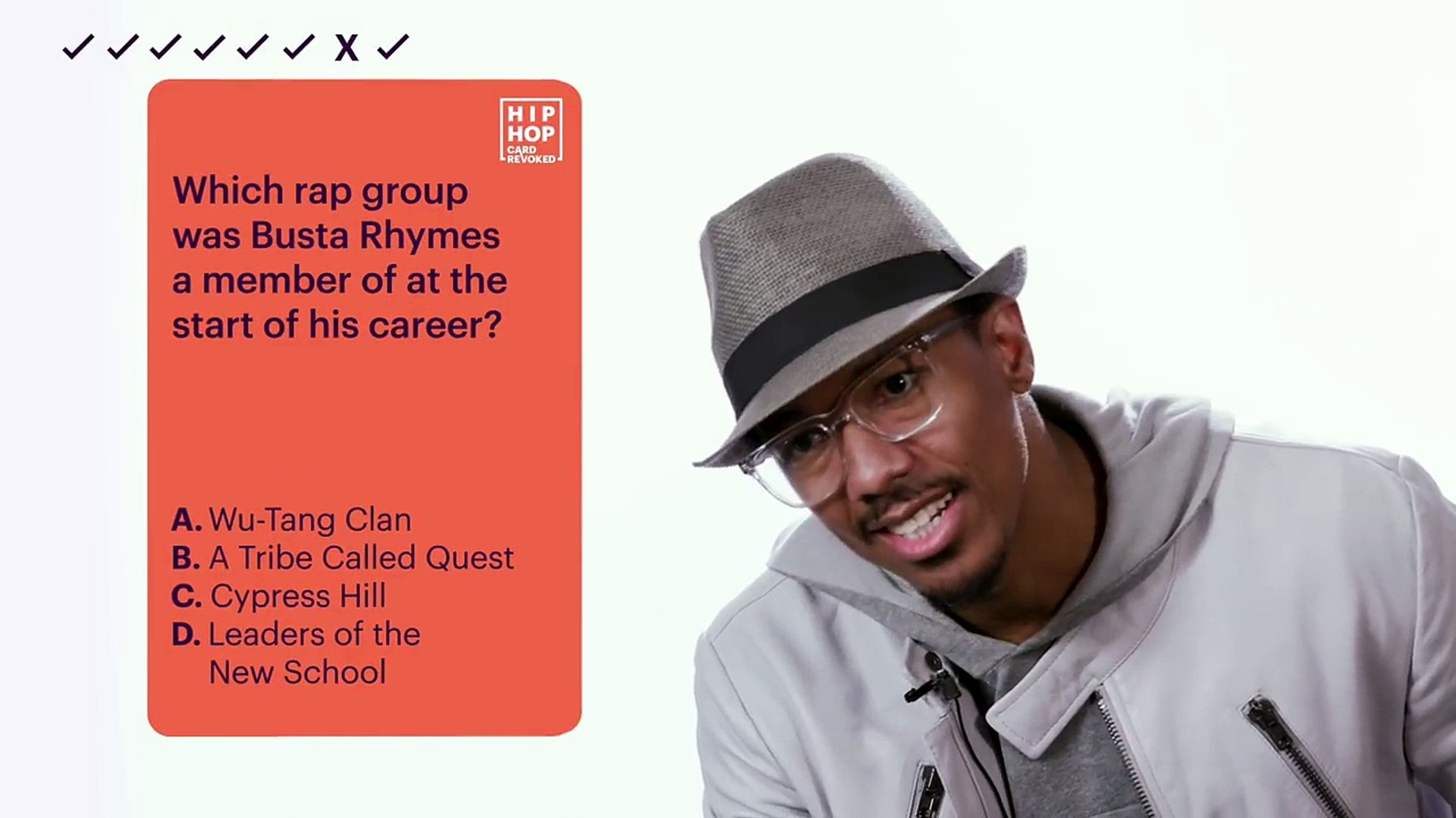 Hip Hop Card Revoked - Nick Cannon of 'Wild 'N Out' _ Hip Hop Squares-GXDX19XhqSg