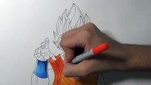 Drawing Goku Super Saiyan Blue – Super Saiyan God Super Saiyan - Resurrection F