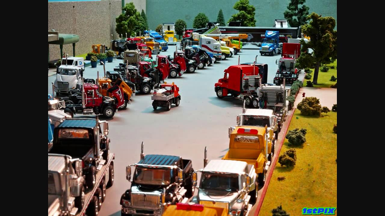 1stPix DIECAST DIORAMAS: 1:64 Trucks, Trucks, & More Trucks