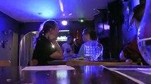 Bonne soirée karaoké passée au petit lutin à Romo grâce à Christohe le dj. Prenez-en de la graine.