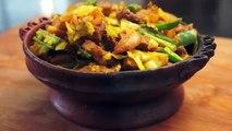 Ethiopian Food - Beef & Cabbage Alicha Tibs Recipe - Amharic English - Injera Wot Berbere Kitfo