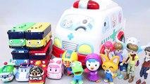 병원놀이 뽀로로 구급차 또봇 타요 폴리 장난감 병원놀이 Tobot Pororo Poli Tayo Cars Toys мультфильмы про машинки Игрушки