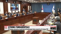 FM says S. Korean economy has good fundamentals to fend off N. Korean risks
