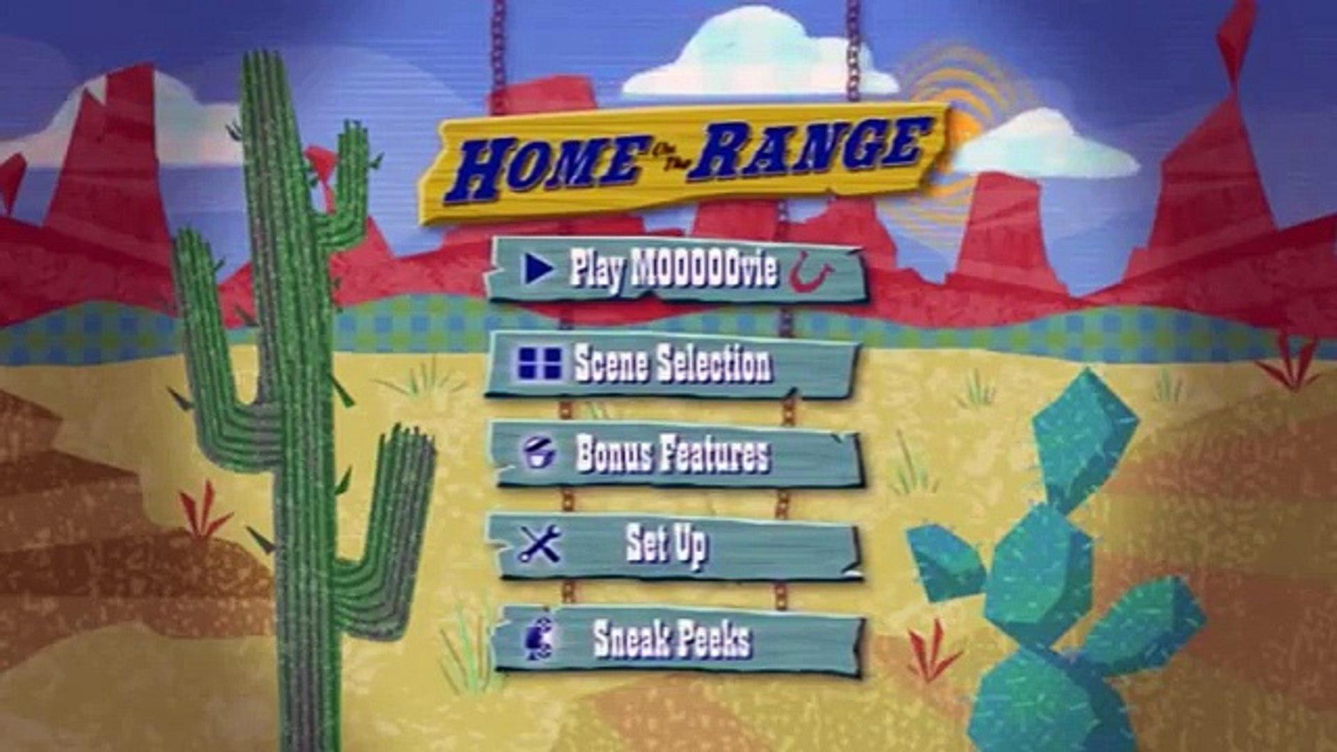 Home On The Range 2004 Dvd Menu Walkthrough