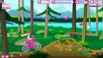 Barbie - Bikes Stylin Ride Bicycle Game - Racing Games for kids