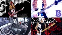 【AVENGED SEVENFOLD】-「Hail to the King」BAND COVER with JJs One Girl Band, De Sade and Kri Drumnerd