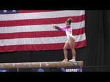 Jordan Chiles - Balance Beam - 2016 Secret U.S. Classic - Junior