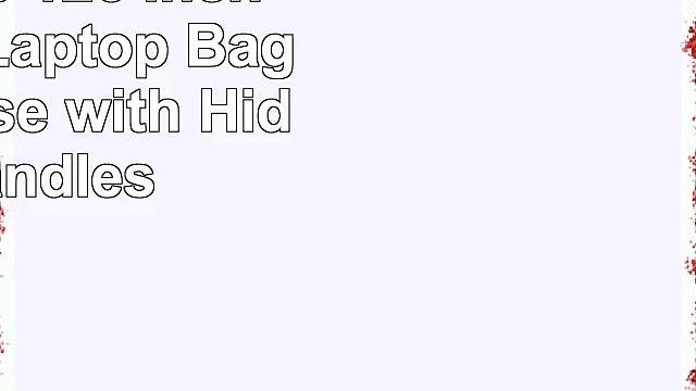 WATERFLY 11 116 12 121 124 125 126 Inch Neoprene Laptop Bag Sleeve Case with Hiden