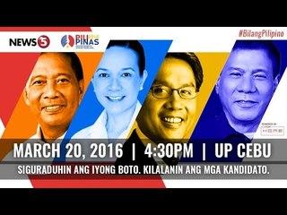 PiliPinas Debates 2016 Round 2