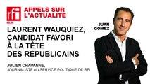 Laurent Wauquiez, candidat favori à la tête des Républicains