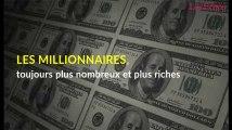 Les millionnaires, toujours plus nombreux et plus riches