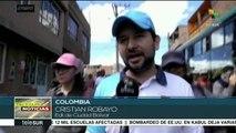 teleSUR noticias. Colombia: reprimen a pobladores del sur de Bogotá
