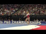 Olivia Trautman- Floor Exercise - 2016 P&G Gymnastics Championships – Sr. Women Day 2