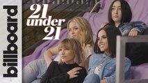 Noah Cyrus, Zara Larsson, Grace VanderWaal & Becky G: 21 Under 21 Interview