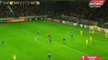 Theo WalcotT second goal Arsenal vs Bate Boriso